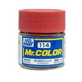 GSI 郡氏 MR.COLOR 組裝模型工具114 RLM23紅色 一戰德國空軍 硝基漆 油性顏料 TOYeGO 玩具e哥