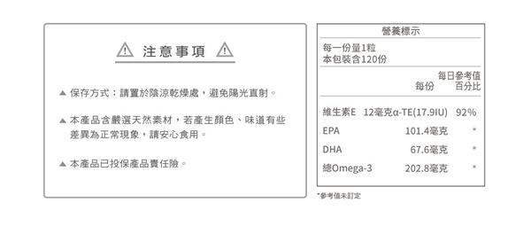普羅拜爾 德國專利黑鑽魚油EPA(軟膠囊食品)