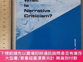 二手書博民逛書店What罕見is narrative criticism narration art theory theorie