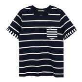 『小鱷魚童裝』拼接條紋T恤(08號~18號)533418