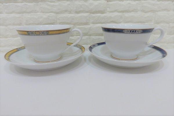 快速出貨 Noritake 歐風陶瓷下午茶杯盤組 咖啡杯2件一組【Tifana】