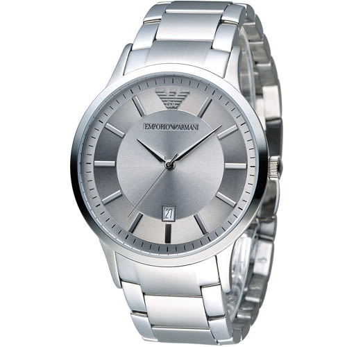 EMPORIO ARMANI Classic 簡約內斂時尚腕錶 AR2478