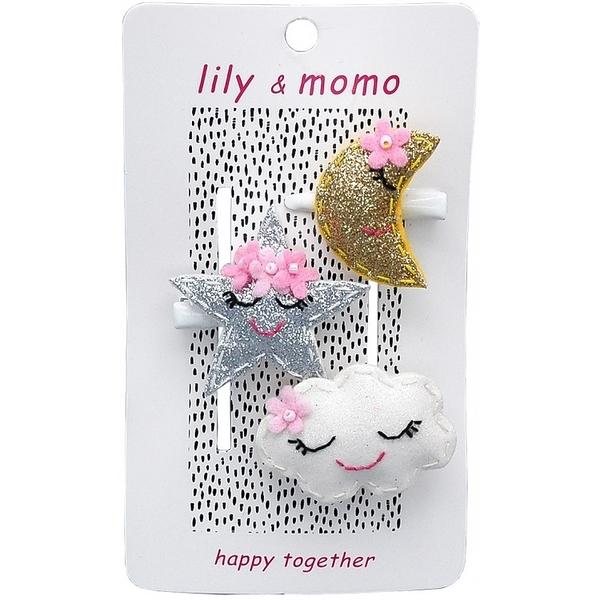 【美國 Lily & Momo】手工童趣髮飾- 甜蜜之吻  #HCA414