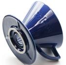 金時代書香咖啡 KADOU 咖堂星芒濾杯「極」M1陶瓷濾杯 藍色 KADOU-M1-BL