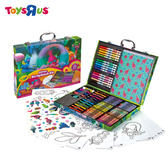 玩具反斗城 【Crayola 繪兒樂】 魔髮精靈TROLLS 豪華色筆組合箱