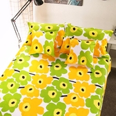 加厚純棉老粗布床單單件全棉單人帆布三件套1.5m/1.8米床涼席1.2