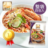 馬來西亞 MyKuali 檳城 紅酸辣湯麵 (四包入) 檳城麵 紅酸辣麵 泡麵 湯麵 拉麵 馬來西亞泡麵