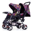 雙胞胎嬰兒推車前后坐輕便折疊可躺 YL-YETC143