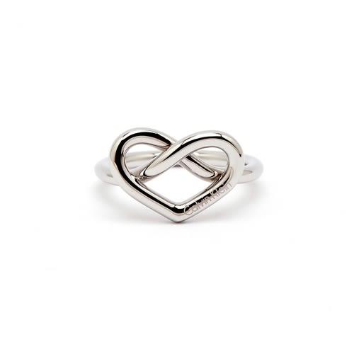 CK Calvin Klein 甜美愛心款戒指(KJ6BMR0001)