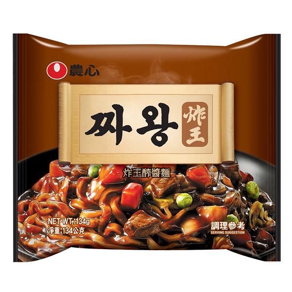韓國 農心 炸王炸醬麵134g(單包)【小三美日】醡醬麵 團購/泡麵