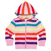 『小鱷魚童裝』彩色條紋連帽外套(02號~08號)338750