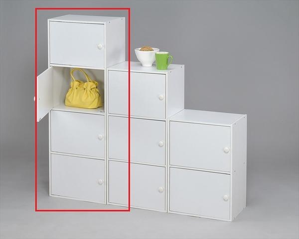 【品味玩家】四層門櫃 附門收納櫃/ 書架 展示櫃