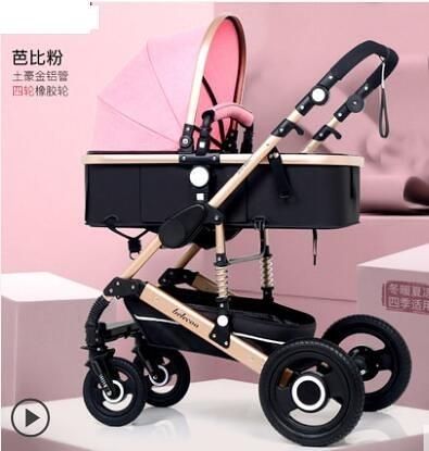 嬰兒推車可坐躺摺疊手推車
