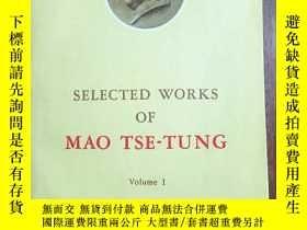 二手書博民逛書店SELECTED罕見WORKS OF MAO TSE-TUNG VL1Y11991 Committee for