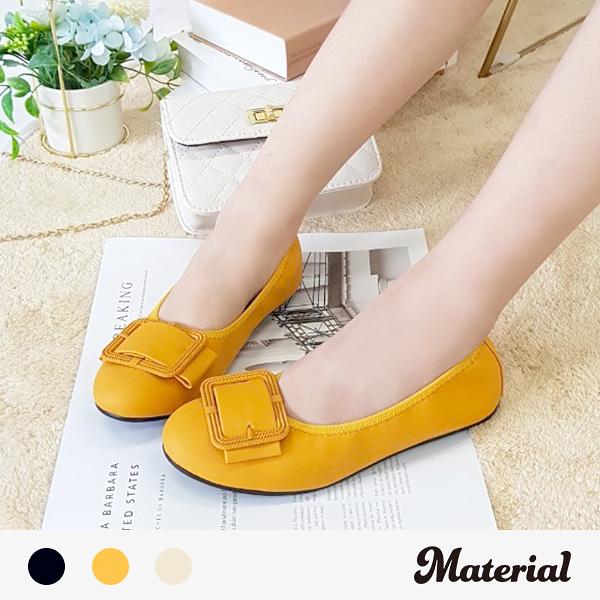 包鞋 大方扣平底包鞋 MA女鞋 T51010