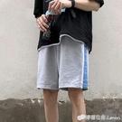 夏季新款短褲男寬鬆潮流五分休閒褲港風學生帥氣運動褲百搭直筒褲 檸檬衣舍