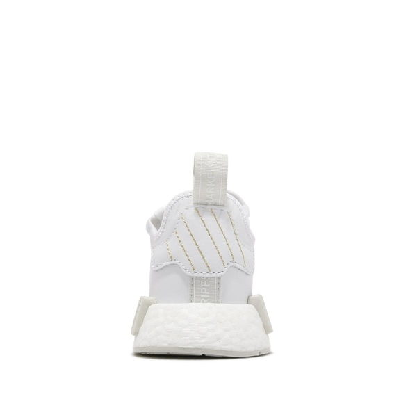 adidas 休閒鞋 NMD_R1 W 白 灰 BOOST 巴黎 Paris 三葉草 女鞋 【ACS】 G58303