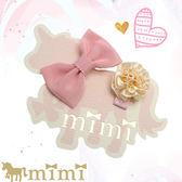 嬰兒髮飾/日本手工製 / 蝴蝶結小花組 mimi