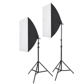 攝影棚補光燈拍照柔光燈箱產品拍攝道具套裝小型便攜器材YDL
