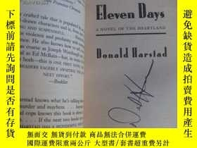 二手書博民逛書店Eleven罕見days:A novel of the hear