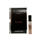 Calvin Klein CK Eternity FLAME 永恆熾愛男性淡香水針管1.2ML【UR8D】