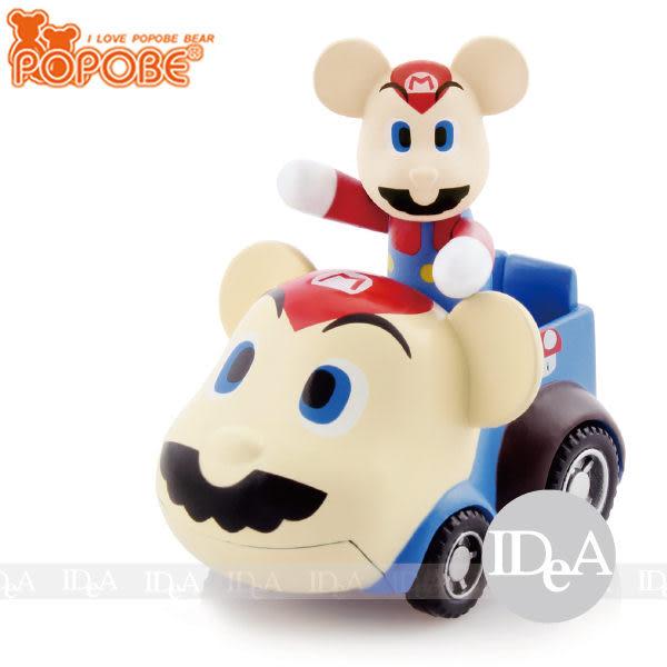 POPOBE熊 車載系列 2吋公仔車飾 小汽車玩具擺飾 超級瑪利歐兄弟 馬力歐 路易吉 露奇 非 暴力 momo