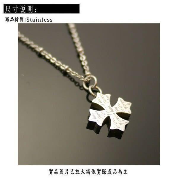 Silver 鈦鋼 項鍊 [ stn010 ]