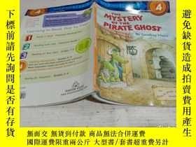 二手書博民逛書店THE罕見MYSTERY OF THE PIRATE GHOST(海盜幽靈之謎)Y212829