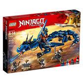 樂高積木LEGO NINJAGO忍者系列 70652 忍者閃電暴風龍