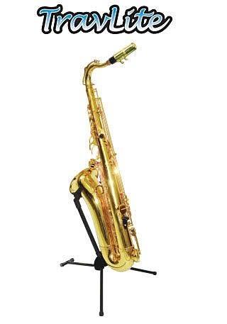 【金聲樂器廣場】HERCULES DS432B 可收折 Tenor 次中音薩克斯風架