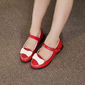 618好康鉅惠女童平跟韓版時尚鞋公主皮鞋 東京衣櫃
