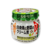 日本KEWPIE P-72 野菜白醬鱈魚泥-70g[衛立兒生活館]