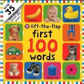 FIRST 100  WORDS /LIFT-THE-FLAP 《幼兒認知操作書》