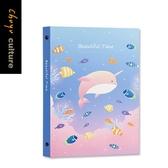B5細版26孔活頁夾-02粉鯨【珠友文化】
