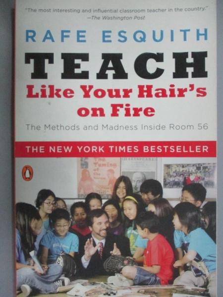 【書寶二手書T7/大學社科_CUE】Teach Like Your Hair's on Fire: The Method