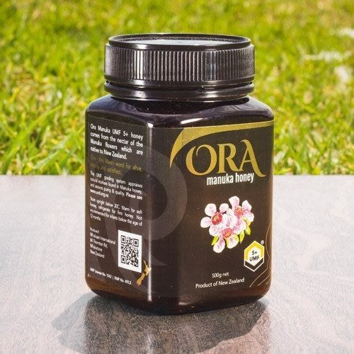 【Ora】紐西蘭ORA麥蘆卡蜂蜜(Manuka Honey) UMF 5+ 500公克