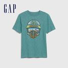 Gap 男童 宇宙主題印花短袖T恤 573657-沼澤綠