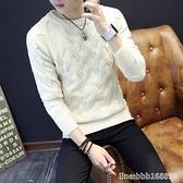 長袖T恤男 男士長袖t恤秋冬季韓版針織毛衫衛衣男裝保暖秋衣服加厚打底衫男 瑪麗蘇