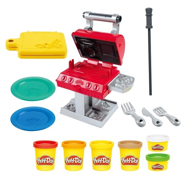 培樂多黏土Play-Doh 廚房系列 BBQ美式烤肉遊戲組