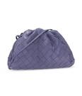 ■專櫃88折■ 全新真品■Bottega Veneta 585852 小款編織款雲朵包 薰衣草紫色