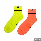 NIKE 短襪U SNKR SOX ANKLE 2PR - HI VIZ-SK0262903