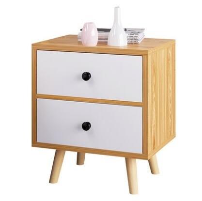 億家達簡易床頭櫃歐式簡約儲物櫃臥室床頭小邊櫃多功能抽屜式斗櫃