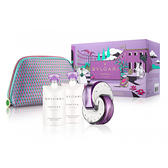 BVLGARI 寶格麗紫水晶女性淡香水禮盒(65ml香水+75ml身體乳*2+化妝包) Vivo薇朵