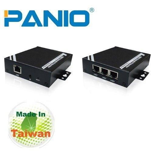 PANIO HDMI延長器-100m 【HD1000-HD1002】 CAT6技術與電子看板1080P輸出 新風尚潮流