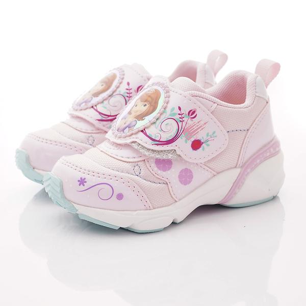 日本Moonstar機能童鞋 蘇菲亞聯名運動鞋款 12404粉(中小童段)
