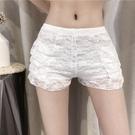 打底褲 年夏季新款可外穿蕾絲白色打底褲網紅安全褲防走光短褲子女裝 瑪麗蘇