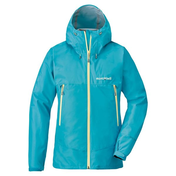 [好也戶外]mont-bell Rain Dancer Jacket女款連帽風雨衣/淺松藍 No.1128341-LTTQ