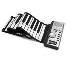 手卷琴 電子琴手卷鋼琴61鍵帶外音折疊加厚硅膠軟鍵盤兒童初學練習便攜式電子琴