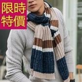 針織圍巾-羊毛個性時尚韓風防寒男女圍脖4色61y20【巴黎精品】