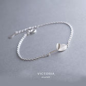 S925 純銀簡單 風格大方 感手鍊維多利亞170715